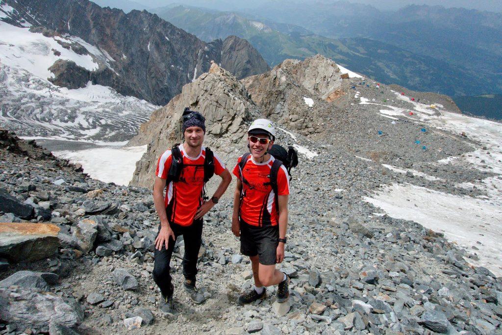 Mont Blanc an einem Tag
